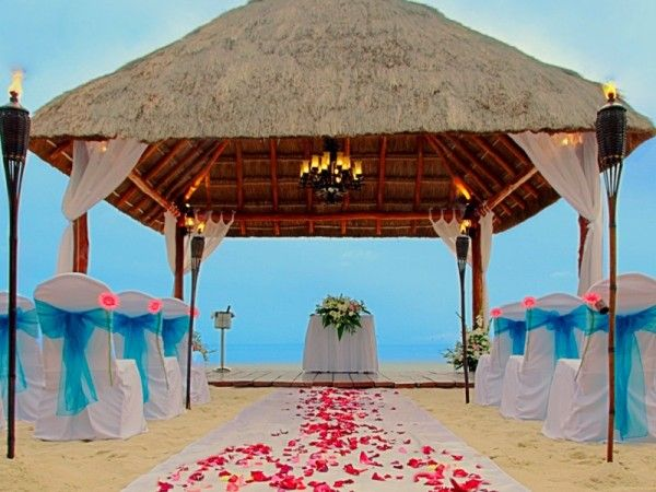 "A Devine Way To Say ""I Do""-Rose petals guide your way down the aisle to your groom. A divine way to to say ""I do."" (Occidental Grand Cozumel in Cozumel, Mexico) Submitted by : RomanceJourneys.com in Dallas, Texas"