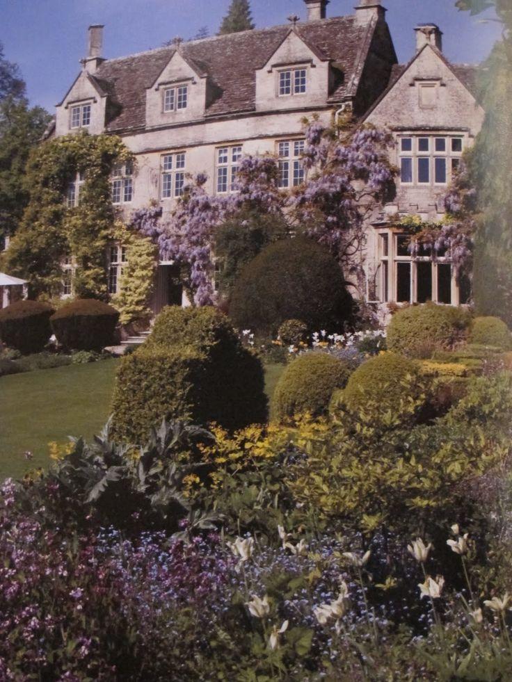 Barnsley House Where Legendary Gardener Rosemary Verey Lived