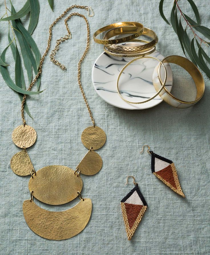 Fair Trade, Necklace, Kenya, Mara Necklace, Brass, Extender Chain, Removable Pendant, Noonday Collection.