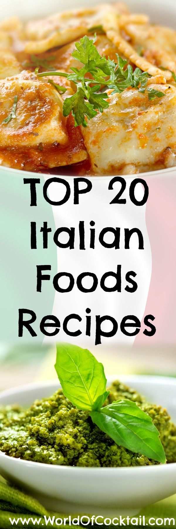 Try the 20 best recipes from all over Italy. We guarantee that you will enjoy! 1. Amatriciana Recipe: 4 slices bacon, diced 1/2 cup chopped onion 1 teaspoon minced garlic .. [Continue Reading]