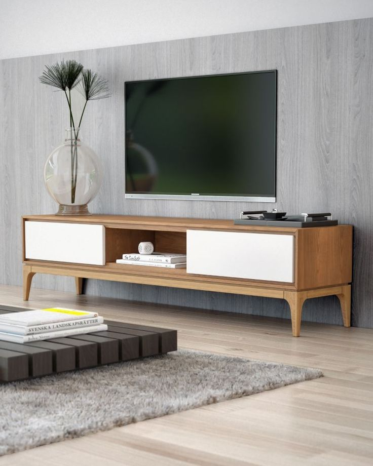 best 25 modern tv stands ideas on pinterest tv stand rack media wall and modern tv room. Black Bedroom Furniture Sets. Home Design Ideas