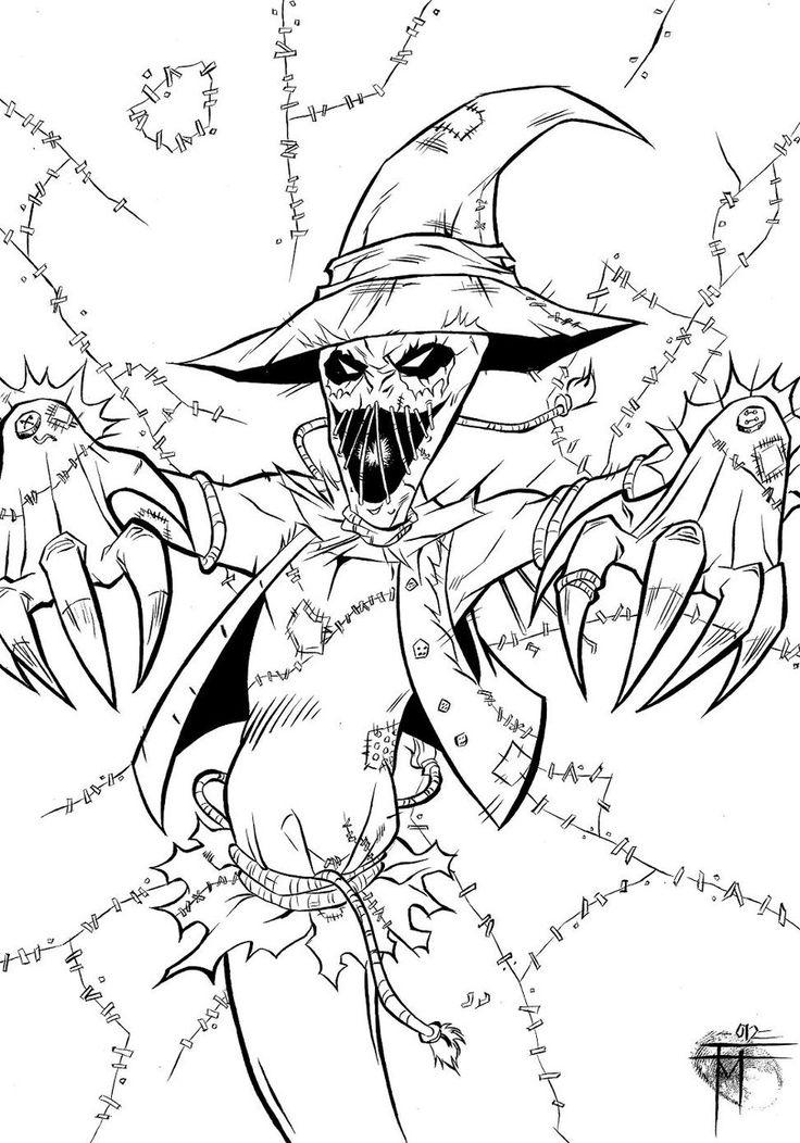 Scarecrow by on deviantART