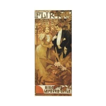 Art Nouveau Poster; Flirt Biscuit; Alphonse Mucha