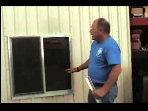 Window Installation Tips - Mueller Metal Buildings