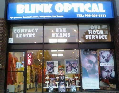 """Blink Optical is a friendly and professional optical store with wide selections of quality Designer Brand Eyeglasses, Sunglasses and Contact lenses.  Blink Optical is the Winner of 2010 and 2012 Readers Choice Award in two categories """"Best Optical Store"""" and """"Best Optician"""" from """"The Markham Economist and Sun"""".  It's easy to see why Blink Optical is the freshest name in Optical Industry."""