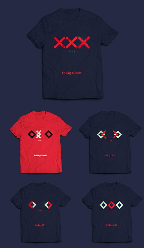 OXO #tshirt #branding by #911Designers, via #Behance #Branding #design #logo #creative #artdirection #identity #stationery