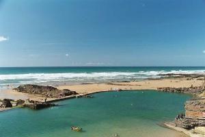 Bude Sea Pool, Summerleaze Beach, Bude Cornwall