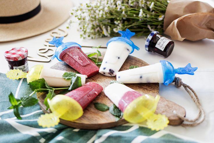 3 przepisy na zdrowe domowe lody na patyku