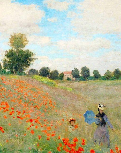 Claude Monet - Wild Poppies, 1873