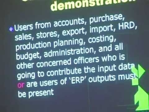 ERP implementation - tips  (1 of 4)