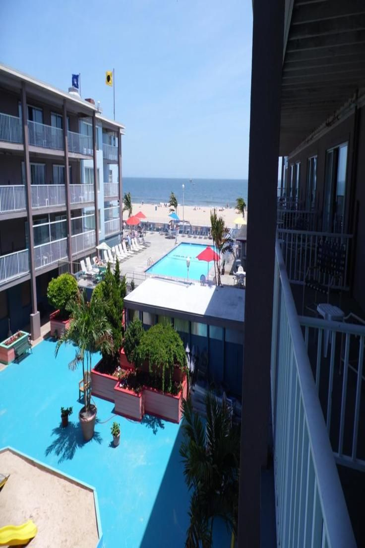 This Oceanfront Hotel Is Located Directly On The Ocean City Boardwalk And Boasts Indoor And Outdoor Swimming Pools The Hotel Maryland Hotels Ocean City Hotels