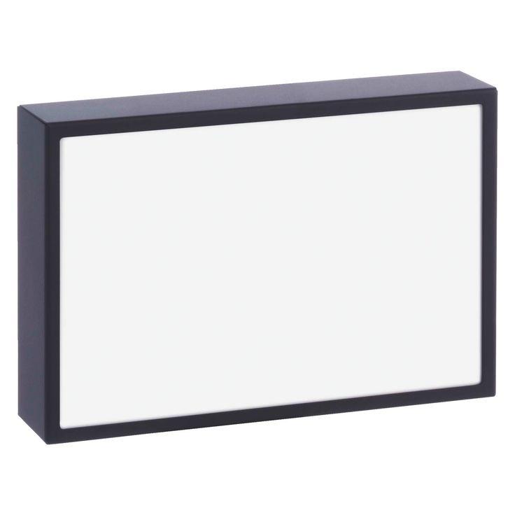 "MELFI 10 x 15cm/ 4 x 6 black metal photo frame | Buy now at Habitat UK"""
