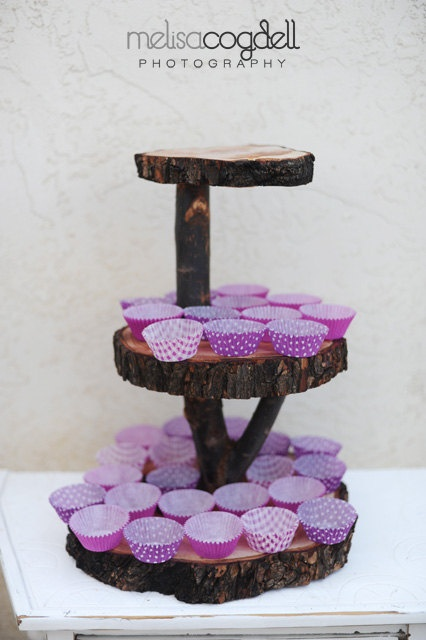 17 best images about treps idea on pinterest simple for Cupcake stand plans