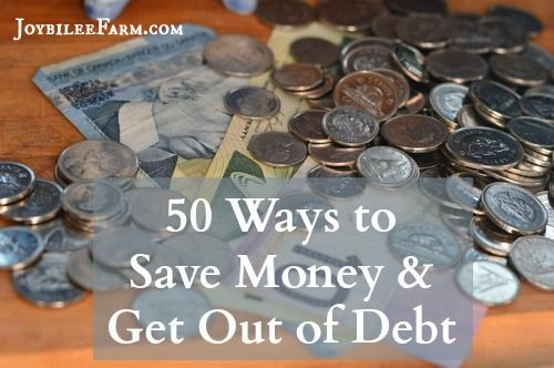 In order to do what you love, where you want to live, you need to get out of debt. Debt keeps you in bondage to a pay cheque. Here's 50 tips to help you.