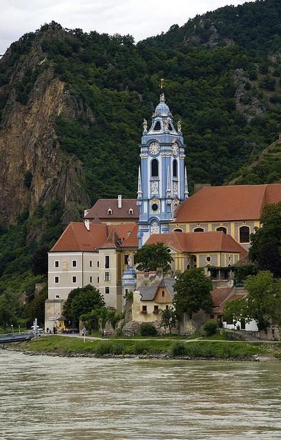 Dürnstein, Austria.  Super quaint village where you can grab a boat and cruise the blue Danube