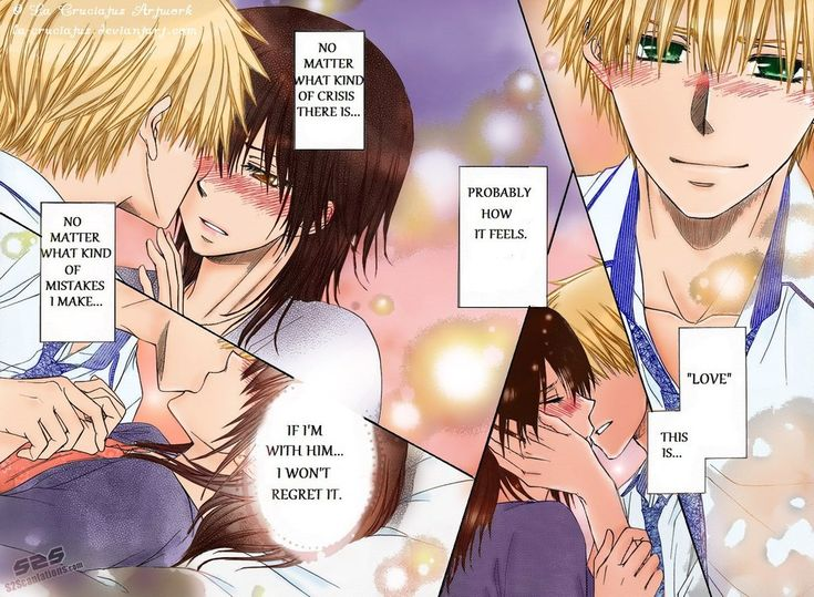 ~Spoiler Alert!~ It's a 'finally' indeed... Usui and Misaki have taken that step. Alone in a room together after a long separation, lots of things to be said and done... The barriers broke down... ...