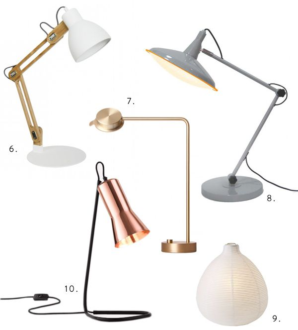 Lamp Love for the Hunt / Gather Column via thedesignfiles.net