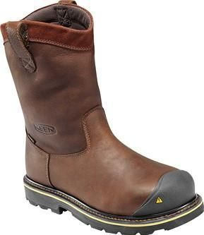 Keen Men's Dallas Wellington Steel Toe Work Boots - HeadWest Outfitters