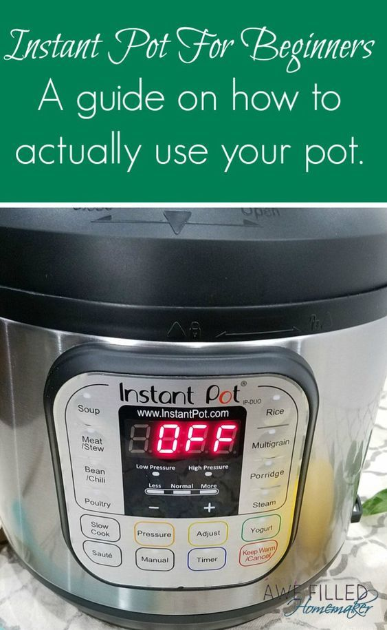 Do you have an instant pot or are curious about how they work? I have put together Instant Pot For Beginners: A guide on how to use your instant pot.