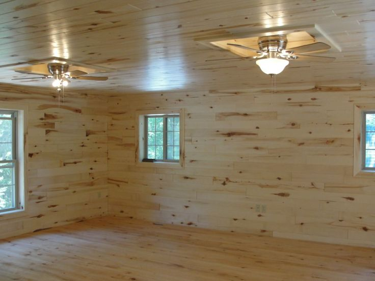 Knotty Pine Paneling (tongue & groove) | WoodHaven Log & Lumber - Aspen tongue & groove paneling