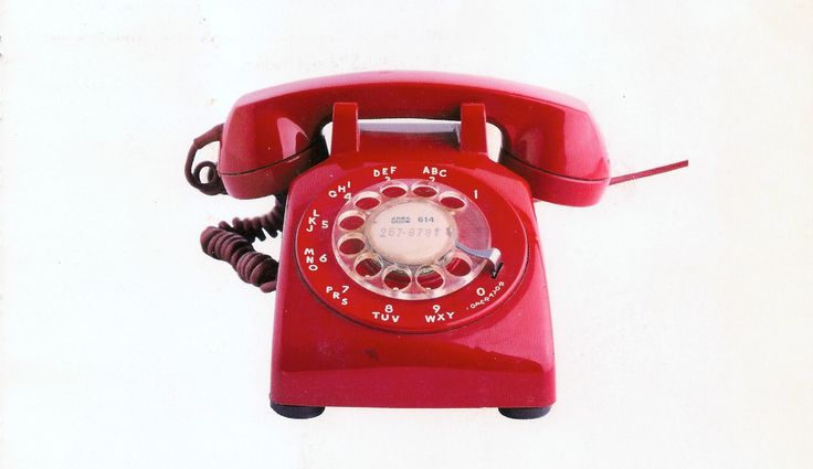 Model No. 500 - Phone for Bell Telephone Laboratories, 1949. [Aparat telefonic pentru Laboratoarele Companiei de telefoane Bell (SUA)] design by Henry Dreyfuss