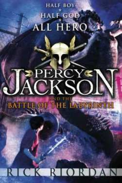 AUDIOBOOK - Percy Jackson:Battle of the Labyrinth by Rick Riordan (.MP3)