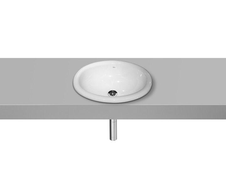 Lavatorio de porcelana de encimera | Lavatorios de encimera | Lavatorios | Productos | Roca