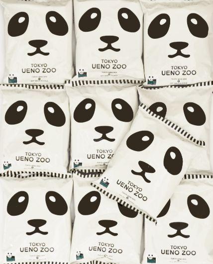 Panda ramen collaborated with Ueno zoo