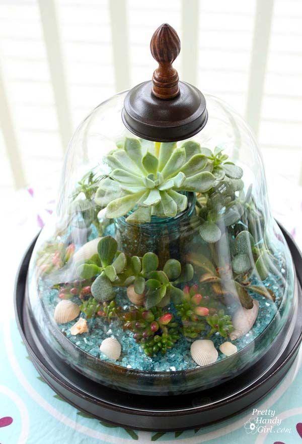 Easy DIY Succulent Garden | PrettyHandyGirl.com