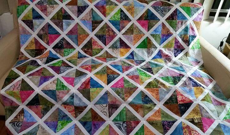 Creamy batik lattices, a Jenny Doan tutorial