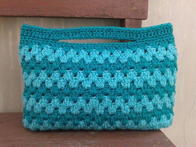 Crochet clutch *star30ch