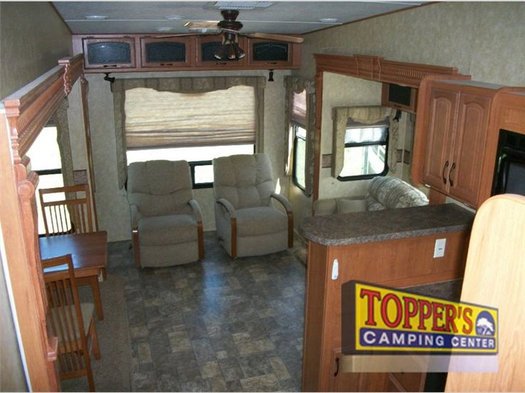 Used 2011 Forest River RV Sandpiper 300RL Fifth Wheel at Topper's Camping Center | Waller, TX | #U-7077