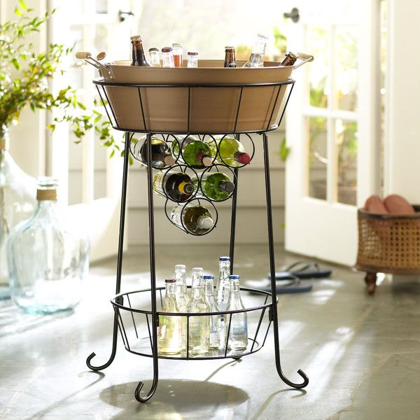 Mint Juleps, Magnolias & Pearls: Best Party Beverage Stations Ideas