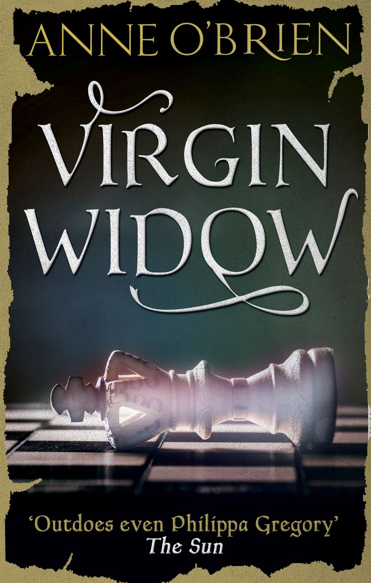 Gorgeous New Cover Artwork For Virgin Widow, My Novel Of Anne Neville And
