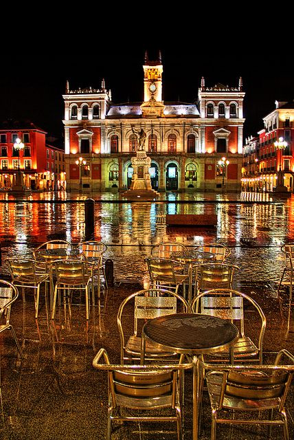 Plaza Mayor de Valladolid, Spain