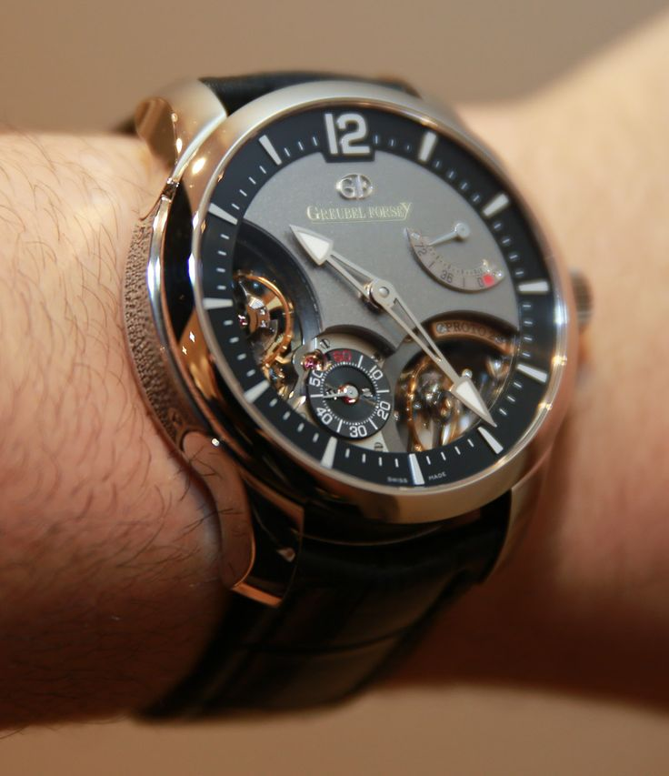 Greubel Forsey Double Balancier Watch