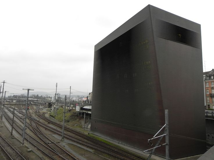 rr control tower herzog de meuron switching station wrapped in a faraday cage of copper. Black Bedroom Furniture Sets. Home Design Ideas