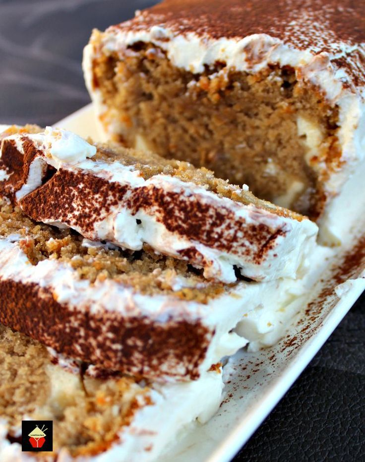 Tiramisu Pound Cake, a soft and delicious pound cake with all the flavors of a Tiramisu! It's even got a mascarpone frosting. This will go fast so be sure to make two!