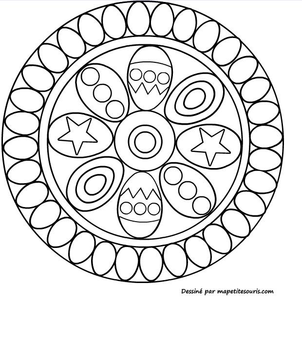 Mandala oeufs