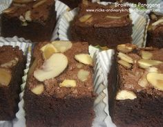 Just My Ordinary Kitchen...: BROWNIES PANGGANG