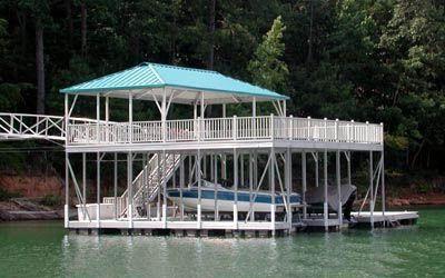 Double Deck Boat Dock