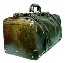 1920年代日本製 マルエム松崎 TRAVELING TRUNK BAG