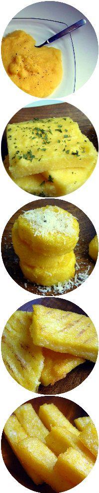Bollita, grigliata, arrostita, ed anche fritta; la polenta è un piatto incredibilmente flessibilenell' uso e ricette! Si puo' abbinare con...