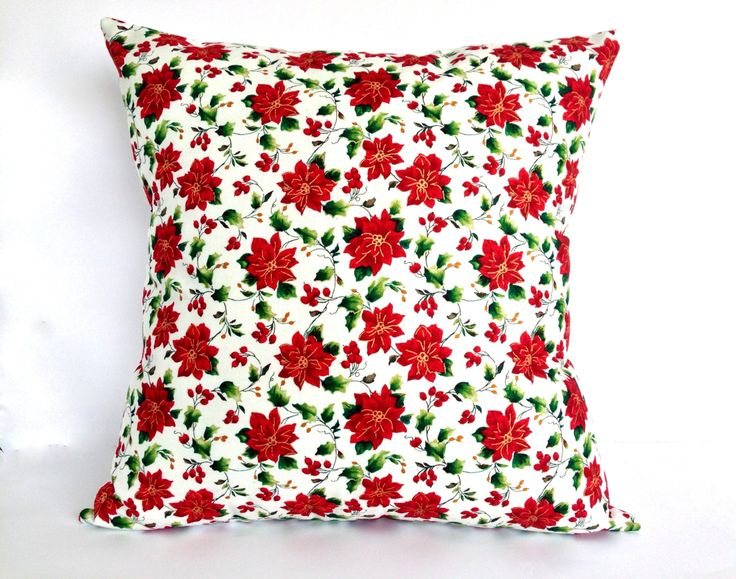 Christmas Pillow Cover Size 16 square inches or 40 square cms Christmas Cushion Cover Christmas Decor Christmas Decoration Christmas gift (25.00 AUD) by AddaSplashofColour