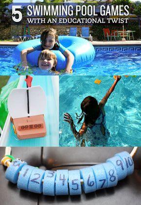 Best 20 Pool Games Kids Ideas On Pinterest