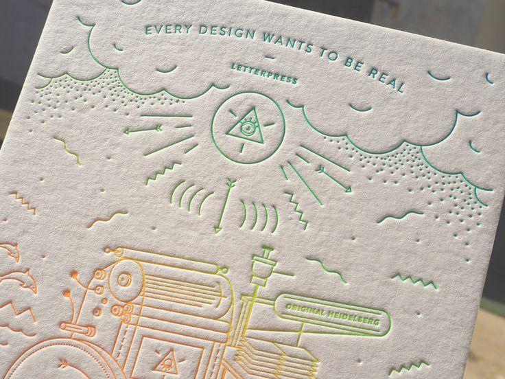 letterpress workshop cards