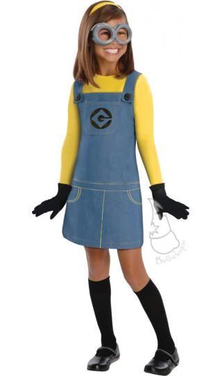 Disfraz de Minion para niñas