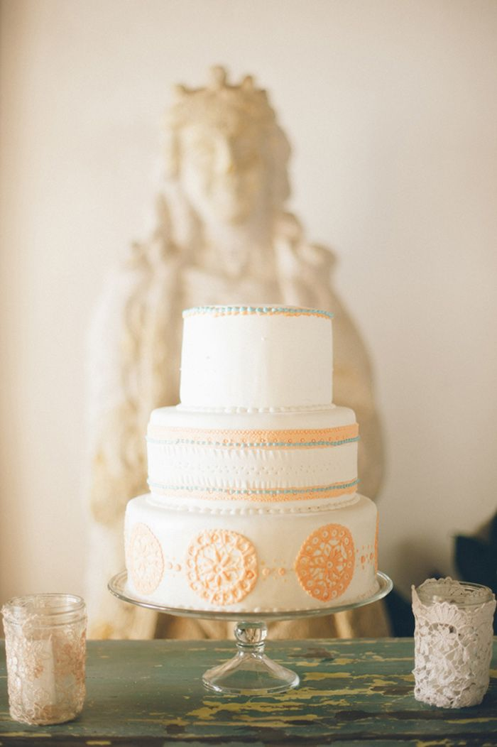 Mexican-inspired wedding cake | Cakes | Pinterest