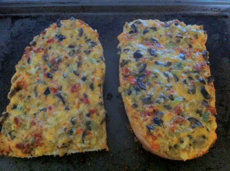 The Pioneer Woman's recipe for Olive Cheese Bread....have made this for years...and will keep making it for many more!!! Always a hit!