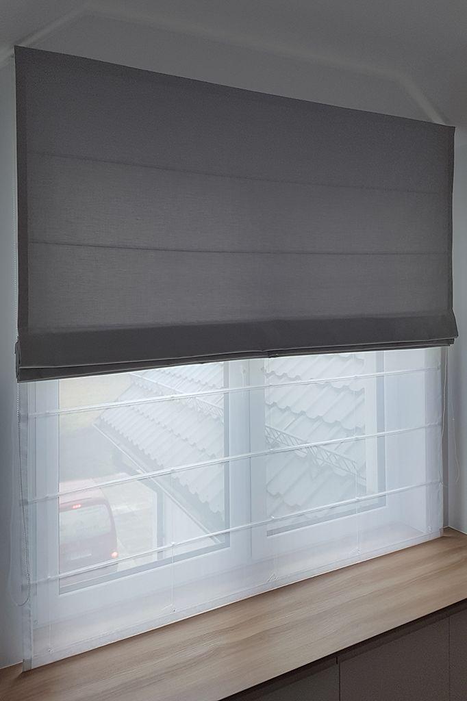 Realizacja Styleathomepl Roleta Roletarzymska Roletapodwojna Podwojna Firanowa Pokojchlopca Pokojdziecka Home Curtains Home Decor Beautiful Furniture